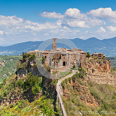 Free Civita Di Bagnoregio Royalty Free Stock Photography - 26432727