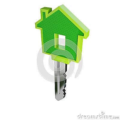 Clé verte d'isolement 02 de maison d'eco