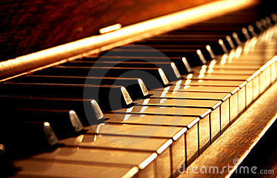 Clés d or de piano