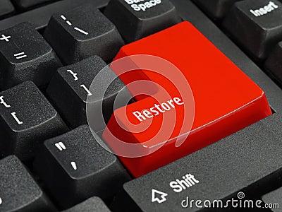 Clé de restauration