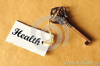 Clé à la santé