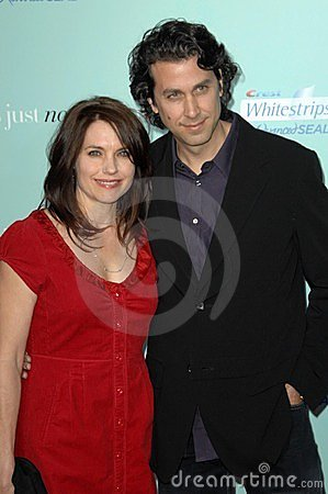Claire Benoit and Cliff Eidelman at the World Premiere of  He s Just Not That Into You . Grauman s Chinese Theatre, Hollywood, CA. Editorial Stock Image