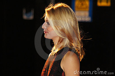 Claire Danes At The King s Speech Editorial Stock Image