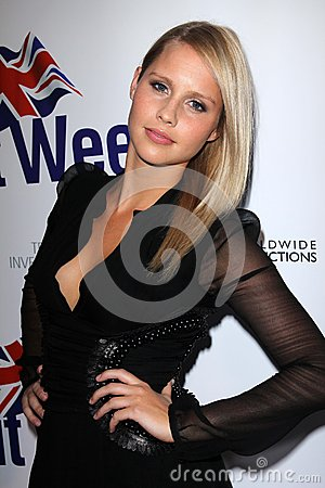 Claire Holt at the Official Launch of BritWeek, Private Location, Los Angeles, CA 04-24-12 Editorial Stock Image