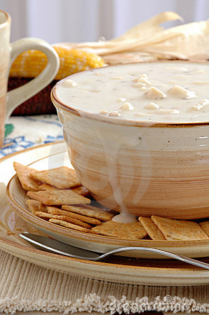 Free Clam Chowder Stock Images - 1669744