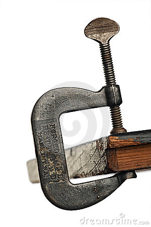 Free Clamp Royalty Free Stock Photography - 779817