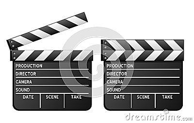 Clapboard κινηματογράφος