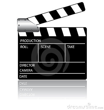 Clapperboard action