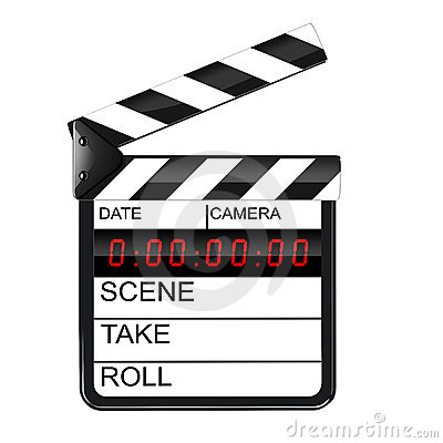 Clapperboard digital