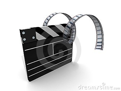 clapperboard movie