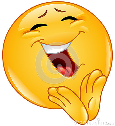 Free Clapping Cheerful Emoticon Stock Images - 50078454