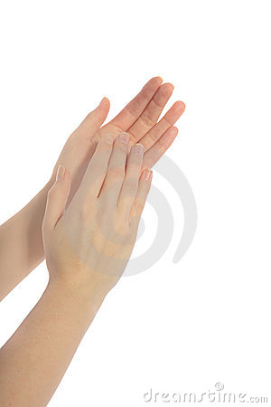 Clapping of hands