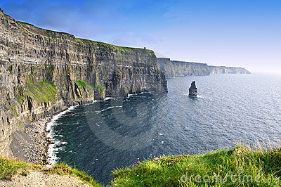 Clare νομός Ιρλανδία απότομων β&rh
