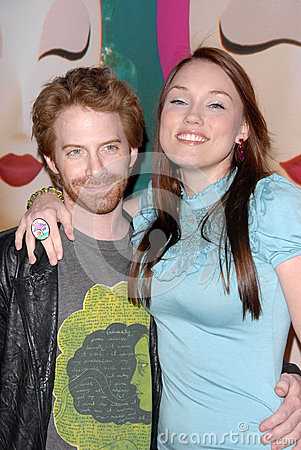 Clare Grant,Seth Green Editorial Photo