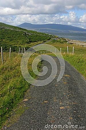 Clare Island road