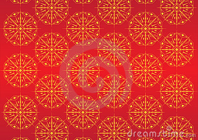 Claret ornamental background