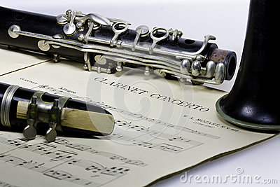 Clarinet concerto Mozart with Bes Clarinet
