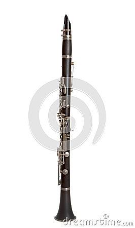 Clarinet isolated