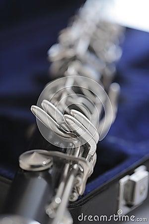 Clarinet Keys on Case