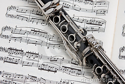 Clarinet on music