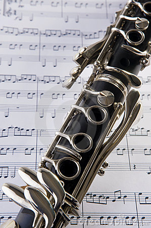 Clarinet and notes