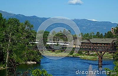 Clark Fork River - Missoula, Montana