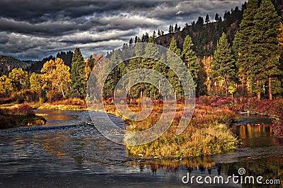Clark Fork River near Bearmouth, Montana
