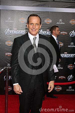 Clark Gregg Editorial Photography