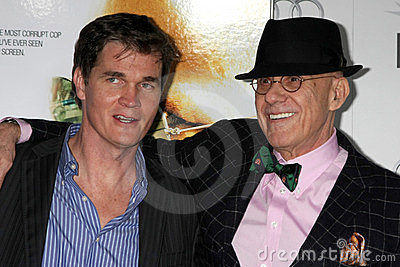 Clark Peterson, James Ellroy Editorial Stock Photo