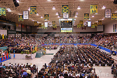 Clarkson University 2010 Graduation Ceremony Editorial Stock Image