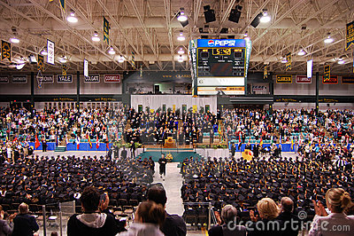 Clarkson University 2010 Graduation Ceremony Editorial Photo