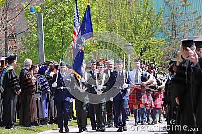 Clarkson University 2012 Graduation Ceremony Editorial Photography
