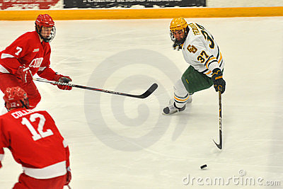 Clarkson Will Frederick in NCAA Hockey Game Editorial Photo