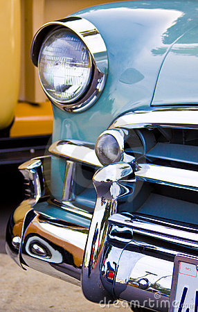 Free Clasic Car Front End Stock Photo - 7200890