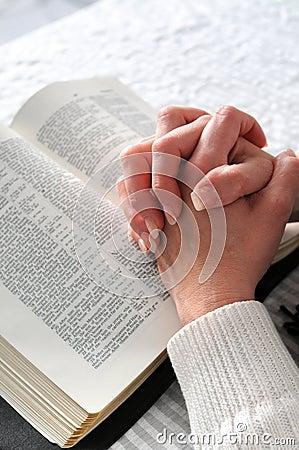 Clasped Hands in Prayer