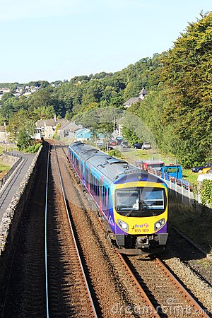Free Class 185 Diesel Multiple Unit On Furness Line Royalty Free Stock Image - 59731476