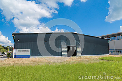 Class 2 Type Construction Building Royalty Free Stock