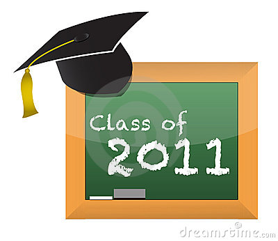 Class of 2011 school education concept
