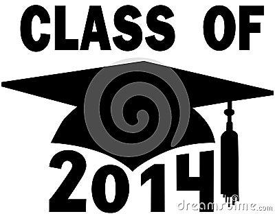 Class of 2014 College High School Graduation Cap