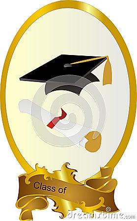 Class Of Graduation Frame Royalty Free Stock Photos