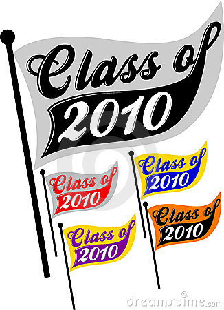Free Class Of 2010 Pennant/eps Stock Image - 12016601