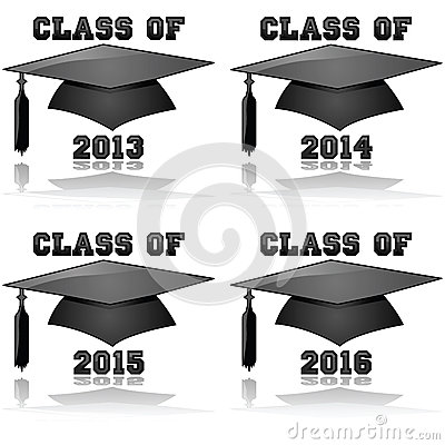 Free Class Of 2013 To 2016 Stock Images - 27963984
