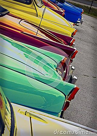 Classic 1960 s retro Cars