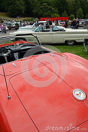 Classic American car show Editorial Photo
