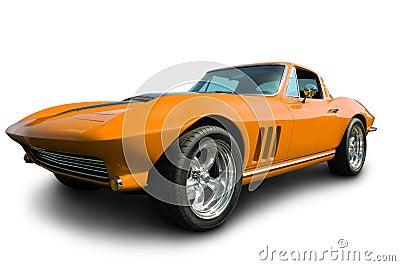 Classic American Corvette