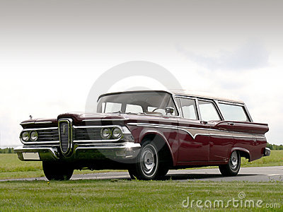 Classic American Station Wagon