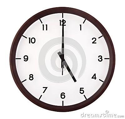 Classic analog clock