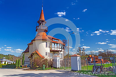 Classic architecture building in Straszyn
