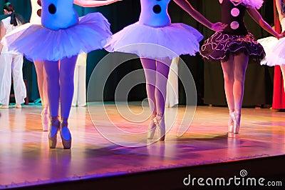 Classic ballet dancers