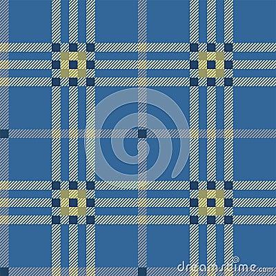 Classic blue tartan